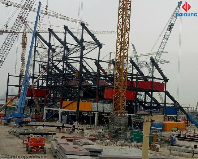 Chân dung doanh nghiệp Việt thi công dự án trị giá 80 triệu USD phục vụ World Cup 2022  - Ảnh 2.
