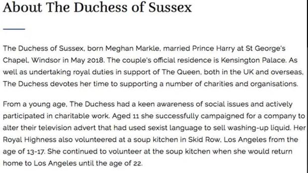 Sau loạt tin đồn bất hòa, động thái mới của Hoàng gia Anh cho thấy họ đang dần loại bỏ Meghan Markle ra khỏi nội bộ gia tộc? - Ảnh 2.