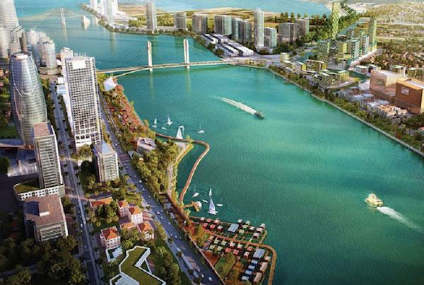 Đồ án điều chỉnh Quy hoạch chung thành phố Đà Nẵng: Điểm nhấn đô thị ven sông Hàn - Ảnh 1.