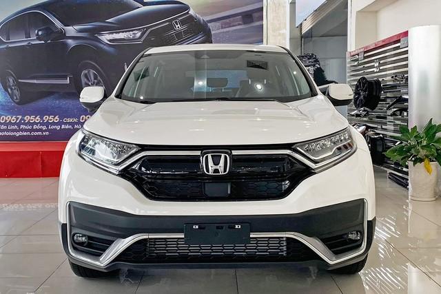 Vừa về đại lý, Honda CR-V 2020 đã được ưu đãi gần trăm triệu, đáp trả Mazda CX-5, đe nẹt Toyota Corolla Cross sắp ra mắt - Ảnh 2.