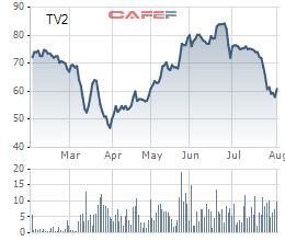 Tư vấn Xây dựng điện 2 (TV2) chốt quyền nhận cổ tức bằng cổ phiếu tỷ lệ 50% - Ảnh 1.