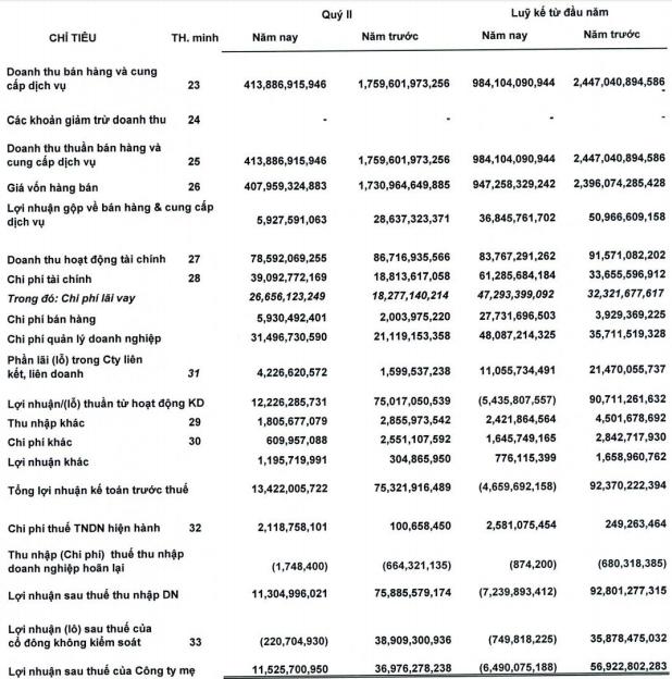 ThuducHouse (TDH): Hoàn tất chuyển nhượng Chợ Nông Sản Thủ Đức, nửa đầu năm vẫn lỗ ròng hơn 7 tỷ đồng - Ảnh 1.