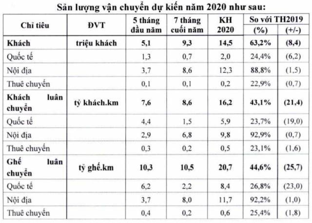 Vietnam Airlines trình cổ đông kế hoạch lỗ gần 15.200 tỷ đồng, được vay 12.000 tỷ đồng - Ảnh 2.