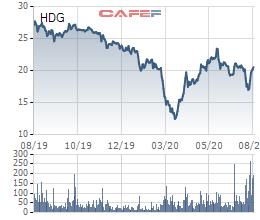 Bán 1,65 triệu cổ phiếu, nhóm quỹ Dragon Capital không còn là cổ đông lớn của Tập đoàn Hà Đô - Ảnh 1.