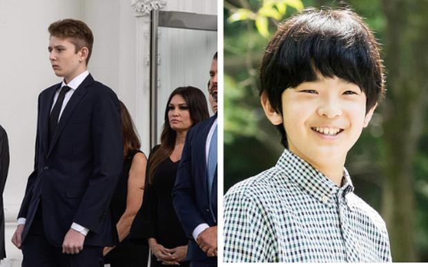 """Bằng tuổi """"Hoàng tử Nhà Trắng"""" Barron Trump, """"Thiên Hoàng tương lai"""" của Nhật Bản gây bất ngờ khi xuất hiện với khí chất hoàn toàn khác biệt - Ảnh 9."""