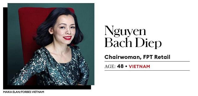Việt Nam có 2 đại diện lọt top 25 nữ doanh nhân quyền lực châu Á của Forbes - Ảnh 2.