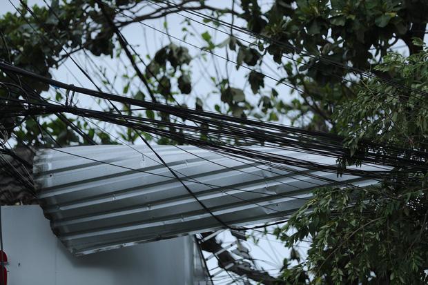 Cây ngã la liệt khiến 1 người chết và nhiều người bị thương, toàn tỉnh Thừa Thiên Huế mất điện sau khi bão số 5 đổ bộ - Ảnh 18.