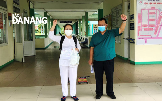 Bệnh viện Phổi Đà Nẵng điều trị khỏi toàn bộ 116 bệnh nhân COVID-19