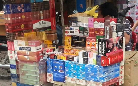 Từ 15/10, buôn bán, vận chuyển 1 bao thuốc lá lậu có thể bị phạt tới 3 triệu đồng