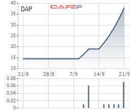 Hàng loạt cổ phiếu tăng gấp đôi, gấp ba trong thời gian qua - Ảnh 1.