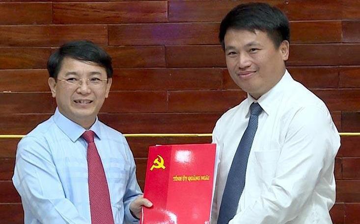 Giám đốc Sở Giao thông Vận tải làm Phó Bí thư Thành ủy Quảng Ngãi