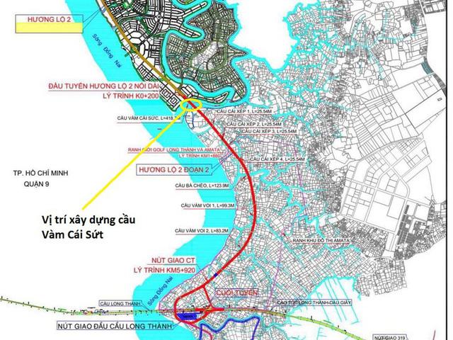 Khởi công cầu 224 tỷ kết nối chuỗi đô thị dọc sông Đồng Nai với Thủ Thiêm vào 2/10 - Ảnh 1.