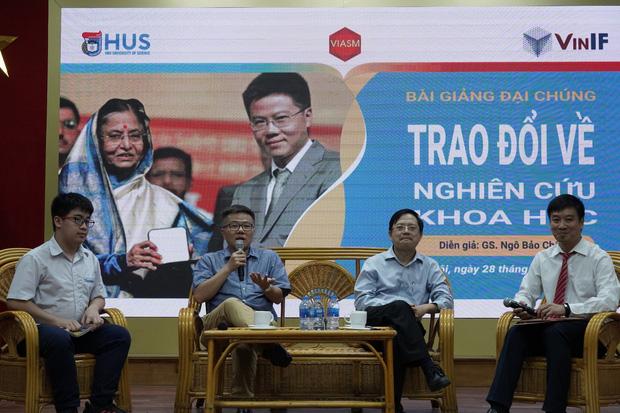 GS. Ngô Bảo Châu: Shock khi nhận bảng lương đầu tiên, không đủ tiền mua vé máy bay về Việt Nam - Ảnh 2.