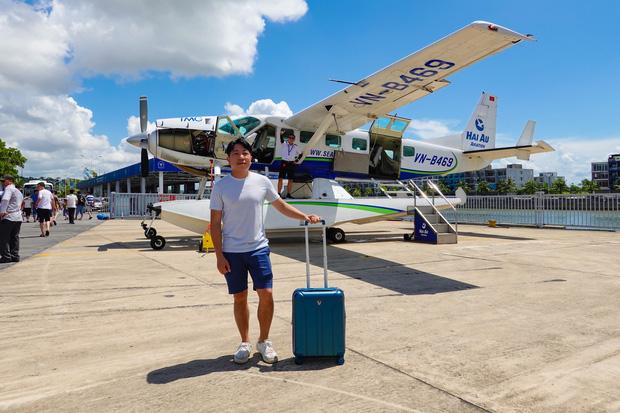 """YouTuber bị gắn mác """"giàu ngầm"""" của Việt Nam: Từng đến 30 quốc gia, mỗi năm đổ hết tiền bạc đi hơn trăm chuyến bay xa xỉ để review - Ảnh 11."""