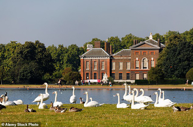 Ngày kinh hoàng của hoàng tộc: Phát hiện thi thể trong hồ nước ngay trước cung điện của vợ chồng Hoàng tử William và Công nương Kate - Ảnh 1.