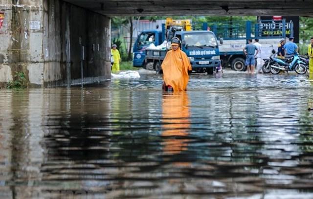 Đề xuất chi 8 tỷ đồng cải tạo, sửa chữa hầm chui đại lộ Thăng Long - Ảnh 1.