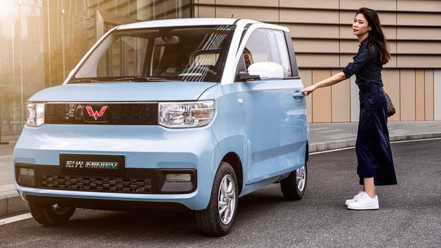 Mẫu xe cỡ nhỏ này đang bán đắt như tôm tươi tại Trung Quốc nhờ giá chỉ bằng Honda SH - Ảnh 1.