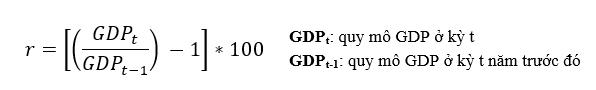 Hiểu sao cho đúng về chỉ số tăng trưởng GDP của các nước? - Ảnh 1.