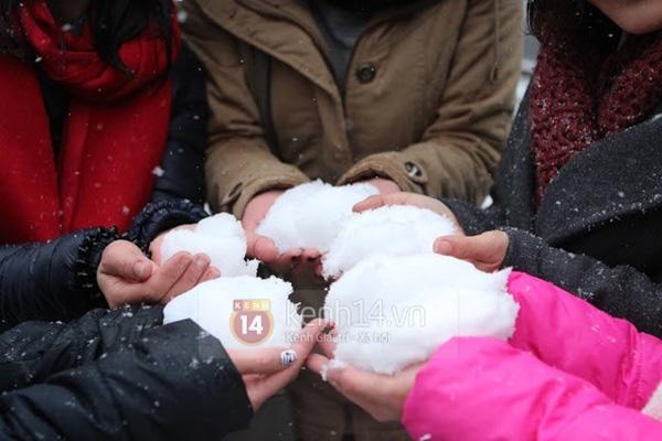Nhiệt độ Sa Pa xuống dưới 0 độ C, có mưa và tất cả đều đang trông chờ tuyết rơi như 7 năm trước - Ảnh 10.