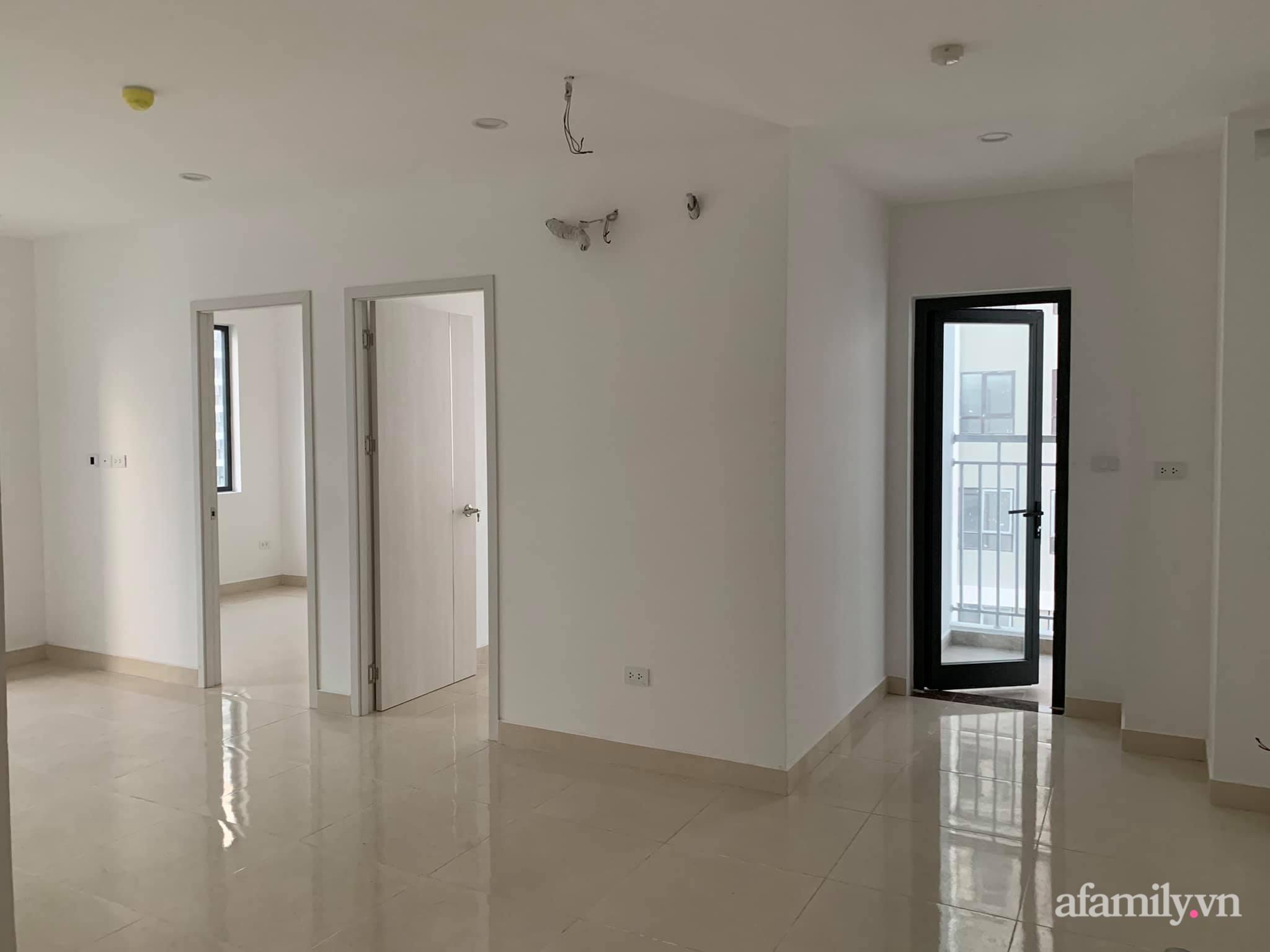 Nhà ở xã hội 69m² siêu ấm áp và tiện ích với chi phí cải tạo 200 triệu đồng của cặp vợ chồng 9X ở Từ Liêm, Hà Nội - Ảnh 2.