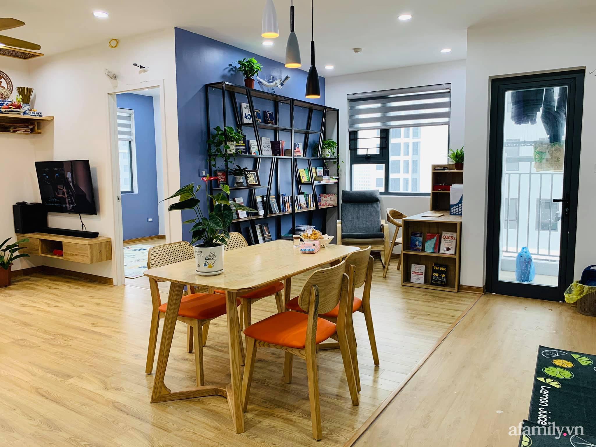 Nhà ở xã hội 69m² siêu ấm áp và tiện ích với chi phí cải tạo 200 triệu đồng của cặp vợ chồng 9X ở Từ Liêm, Hà Nội - Ảnh 17.