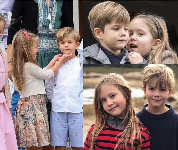 Cặp song sinh Hoàng gia Đan Mạch gây sốt MXH với màn lột xác ở tuổi lên 10, độ hot không thua kém Hoàng tử công chúa nước Anh - Ảnh 5.