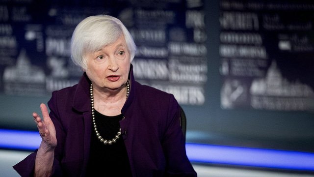 Bộ trưởng tài chính Mỹ tương lai Janet Yellen: Cứ vay nợ nhiều vào rồi trả sau  - Ảnh 1.
