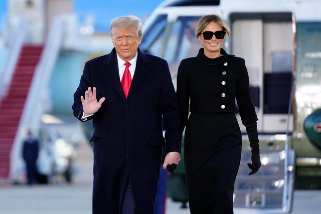 Tổng thống Trump lên Air Force One lần cuối, rời Washington D.C về làm thường dân - Ảnh 2.