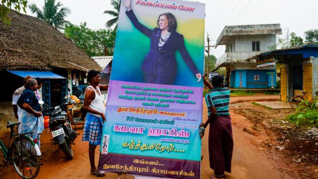 Ngôi làng tí hon ở Ấn Độ vui như Tết khi bà Kamala Harris tuyên thệ nhậm chức Phó Tổng thống Mỹ - Ảnh 3.