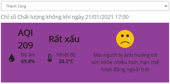 Không khí Hà Nội ô nhiễm nặng, nhiều chuyến bay không thể hạ cánh - Ảnh 1.