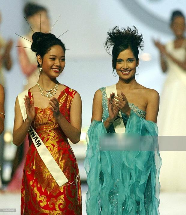 Nữ sinh chuyên Lý 17 tuổi trở thành Hoa hậu Việt Nam 2002, trốn showbiz đi du học giờ thay đổi chóng mặt, nhan sắc gây bất ngờ - Ảnh 3.