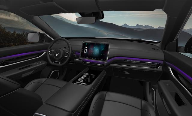 Bóc trang bị 3 ô tô VinFast hoàn toàn mới: Màn hình khổng lồ, cửa sổ trời miên man, tìm được nút bấm cũng khó - Ảnh 11.