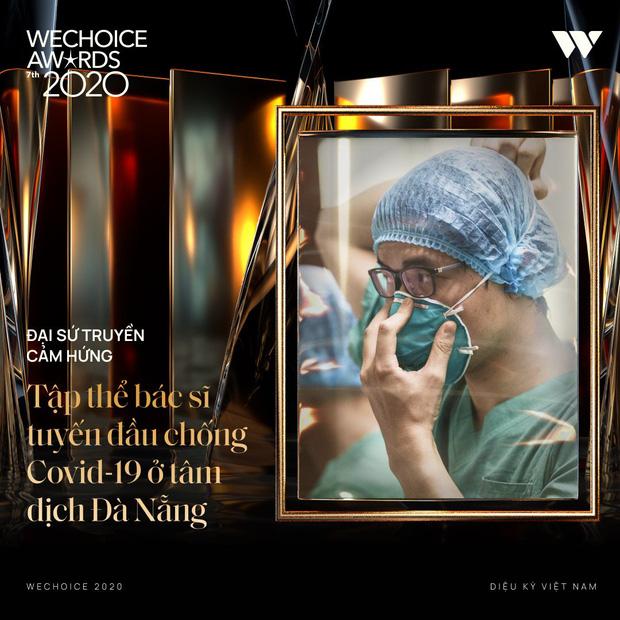 Tập thể bác sĩ tuyến đầu chống dịch tại Đà Nẵng, cha đẻ ATM gạo, SofM... trở thành Top 5 Đại sứ truyền cảm hứng WeChoice Awards 2020 - Ảnh 4.