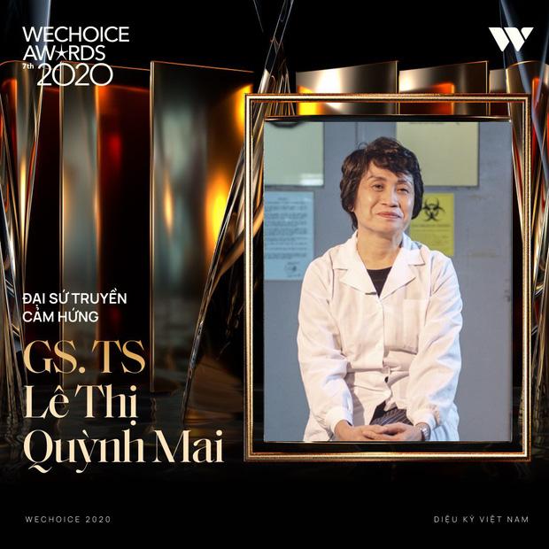 Tập thể bác sĩ tuyến đầu chống dịch tại Đà Nẵng, cha đẻ ATM gạo, SofM... trở thành Top 5 Đại sứ truyền cảm hứng WeChoice Awards 2020 - Ảnh 8.
