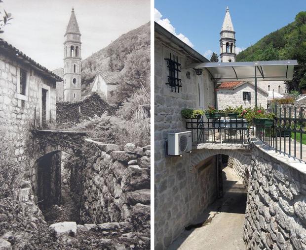 Nhiếp ảnh gia ngao du khắp châu Âu, tìm lại những địa điểm trong loạt ảnh cũ từ 100 năm trước khiến ai cũng ngỡ ngàng vì sự đổi thay kì diệu - Ảnh 11.