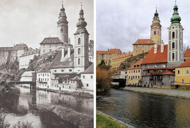 Nhiếp ảnh gia ngao du khắp châu Âu, tìm lại những địa điểm trong loạt ảnh cũ từ 100 năm trước khiến ai cũng ngỡ ngàng vì sự đổi thay kì diệu - Ảnh 5.