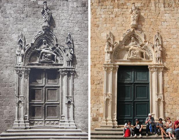 Nhiếp ảnh gia ngao du khắp châu Âu, tìm lại những địa điểm trong loạt ảnh cũ từ 100 năm trước khiến ai cũng ngỡ ngàng vì sự đổi thay kì diệu - Ảnh 9.