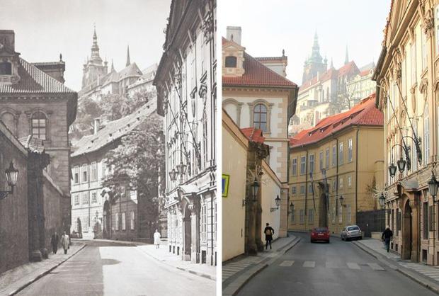 Nhiếp ảnh gia ngao du khắp châu Âu, tìm lại những địa điểm trong loạt ảnh cũ từ 100 năm trước khiến ai cũng ngỡ ngàng vì sự đổi thay kì diệu - Ảnh 10.