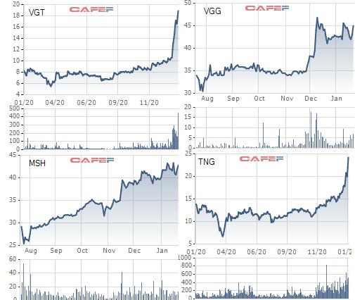Điều gì khiến loạt cổ phiếu dệt may TCM, VGT, GIL… bật tăng gấp 2-4 lần chỉ trong thời gian ngắn - Ảnh 5.