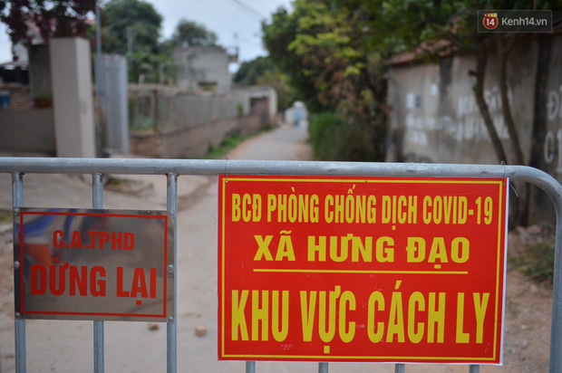 Ảnh: Phong tỏa 1 thôn ở Hải Dương, giãn cách xã hội 1 xã liên quan đến nữ công nhân dương tính Covid-19 - Ảnh 4.