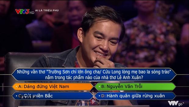 Là người đầu tiên trong lịch sử Ai Là Triệu Phú quyết trả lời đến câu 15, mất 63 triệu nhưng thế mới đúng Trần Đặng Đăng Khoa - Ảnh 3.