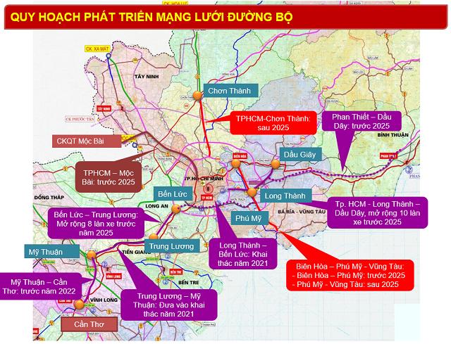 Hàng loạt tuyến cao tốc nối TP HCM và vùng ven sẽ được hoàn thành trước 2025 - Ảnh 2.