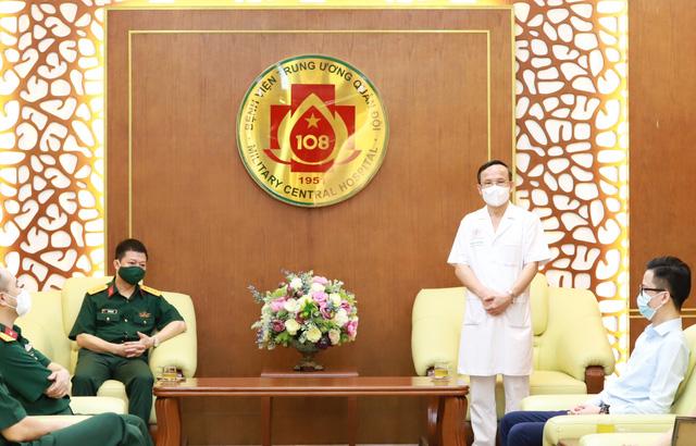 MB ủng hộ 5 tỷ đồng cho Bệnh viện Trung ương Quân đội 108 - Ảnh 1.