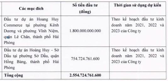TCH sắp chào bán 199,5 triệu cổ phiếu với giá 12.800 đồng/cp, rót vốn cho dự án tại Hải Phòng - Ảnh 1.