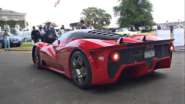Quá trình mông má Ferrari P4/5 độc nhất thế giới: Lau chùi từng li từng tí, 3 người làm việc tỉ mẩn trong hai ngày - Ảnh 2.