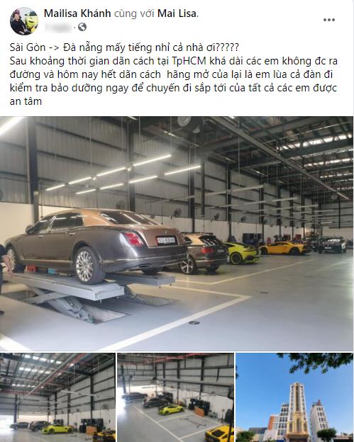 Đại gia Hoàng Kim Khánh mang dàn siêu xe, xe siêu sang đi bảo dưỡng, tiện thể tiết lộ luôn chuyến đi xa đầu tiên sau giãn cách - Ảnh 1.