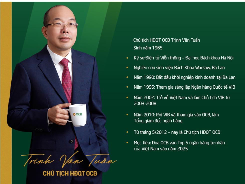 Đông Âu Tứ hùng trong giới ngân hàng: Doanh nhân Trịnh Văn Tuấn người tạo ra cuộc cách mạng về hiệu quả tại OCB - Ảnh 1.
