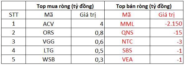 Phiên 11/10: Khối ngoại tiếp mạch bán ròng trên toàn thị trường, tâm điểm bán ròng 2.150 tỷ đồng cổ phiếu MML - Ảnh 3.