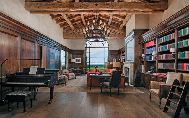 Bên trong dinh thự chỉ thua nhà của tỷ phú Jeff Bezos ở bang có giá đất cao nhất nước Mỹ - Ảnh 4.