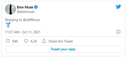 Bỏ xa Jeff Bezos trên bảng xếp hạng siêu giàu, Elon Musk lại vừa có màn đá xoáy cực gắt dù không nói một từ - Ảnh 1.